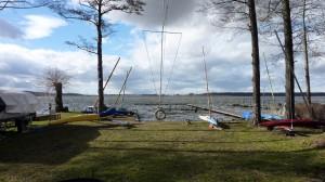 Der Rangsdorfer See eisfrei